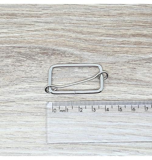 Regulador para alça 36 mm - Niquelada