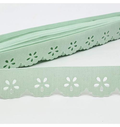 Mini Lasynha 01 cor lisa - Verde claro