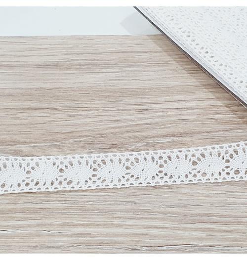 Renda de Algodão RA035 (pcte com 10 metros) - Branca
