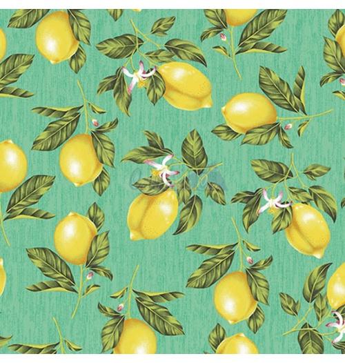 Tecido Tricoline Limão Siciliano - Tiffany