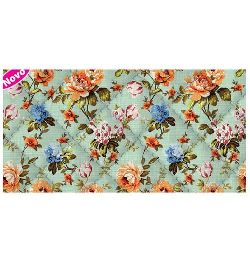 Placa de matelassê ultrassônico - Floral Valência P
