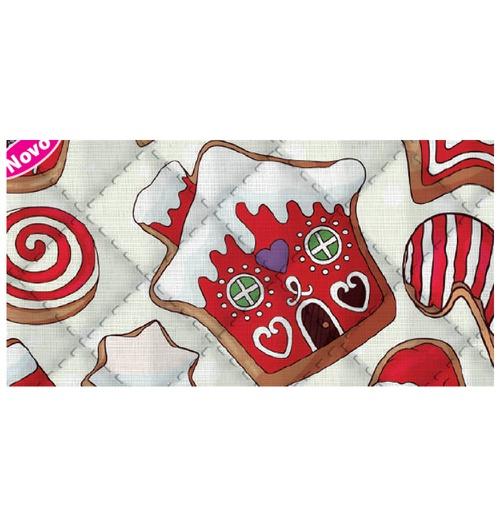 Placa de matelassê ultrassônico - Natal Sweet G