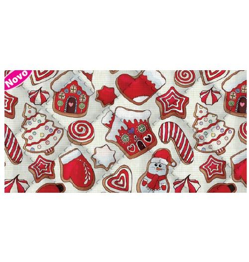 Placa de matelassê ultrassônico - Natal Sweet P