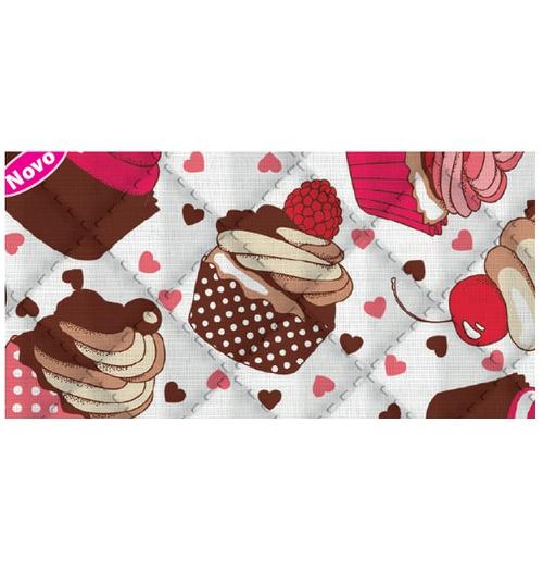 Placa de matelassê ultrassônico - Sweet Rosa G