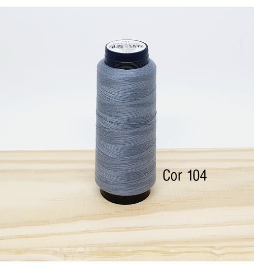Linha para costura Resistente 2000j - cor 104 (cinza escuro)