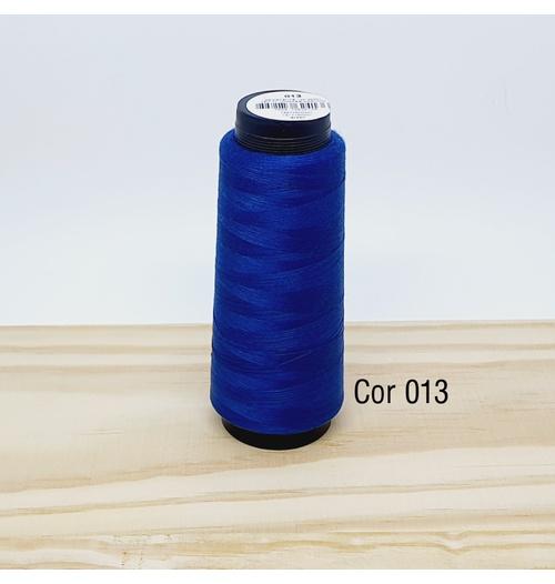 Linha para costura Resistente 2000j - cor 013 (azul marinho)