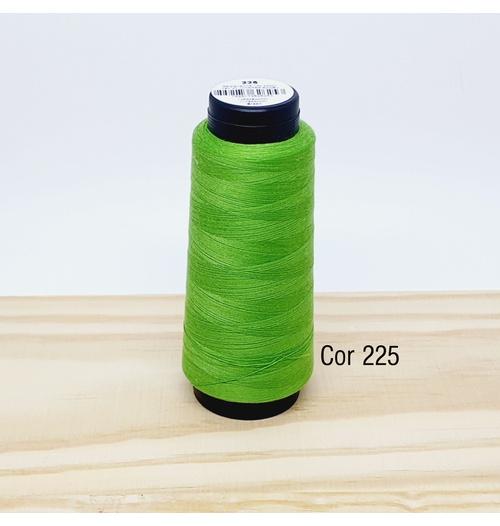 Linha para costura Resistente 2000j - cor 225 (verde folha)