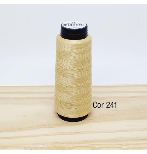 Linha para costura Resistente 2000j - cor 241 (bege claro)