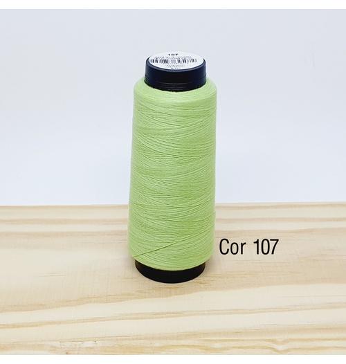 Linha para costura Resistente 2000j - cor 107 (verde bebê)