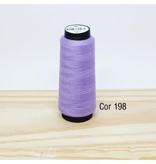 Linha para costura Resistente 2000j - cor 198 (lilás claro)