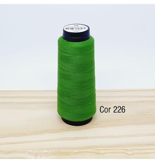 Linha para costura Resistente 2000j - cor 226 (verde musgo)