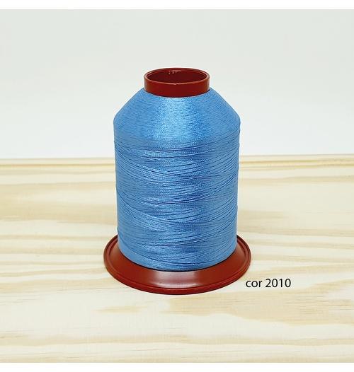 Linha para bordar Ricamare 4000mt - cor 2010 (azul)