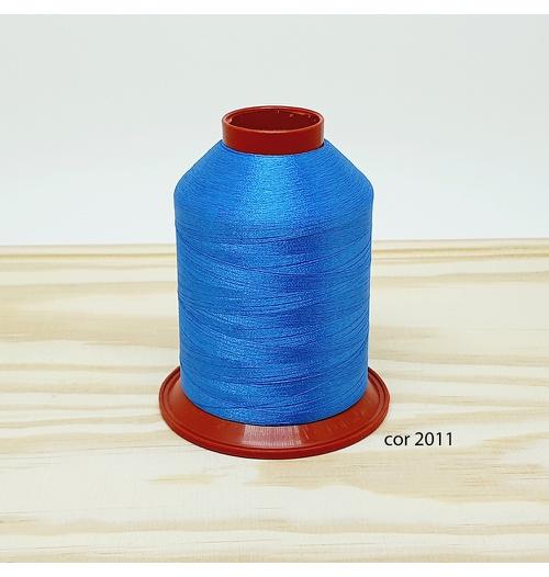 Linha para bordar Ricamare 4000mt - cor 2011 (azul médio)