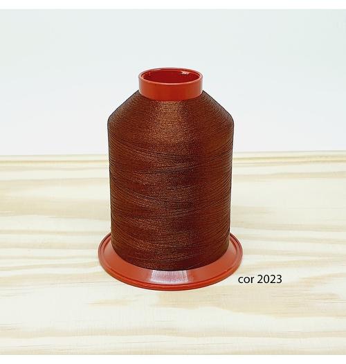 Linha para bordar Ricamare 4000mt - cor 2023 (chocolate)