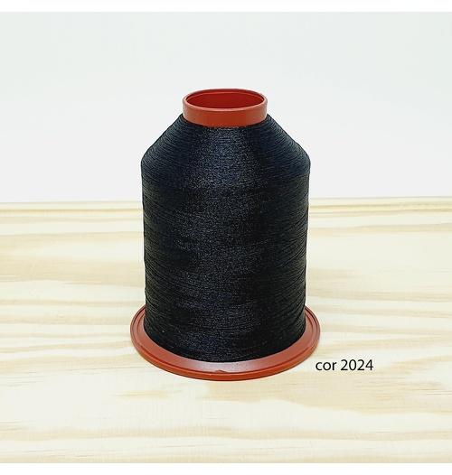 Linha para bordar Ricamare 4000mt - cor 2024 (preto)