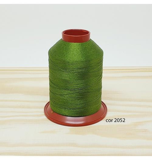 Linha para bordar Ricamare 4000mt - cor 2052 (verde folha)