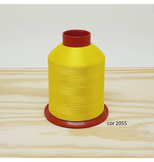 Linha para bordar Ricamare 4000mt - cor 2055 (amarelo)
