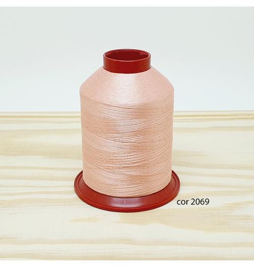 Linha para bordar Ricamare 4000mt - cor 2069 (salmão claro)