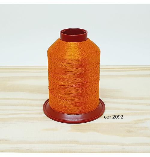 Linha para bordar Ricamare 4000mt - cor 2092 (laranja)