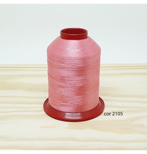 Linha para bordar Ricamare 4000mt - cor 2105 (rosa)