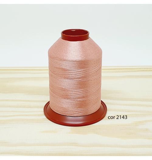 Linha para bordar Ricamare 4000mt - cor 2143 (rosê)