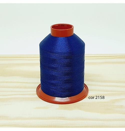 Linha para bordar Ricamare 4000mt - cor 2158 (azul marinho)