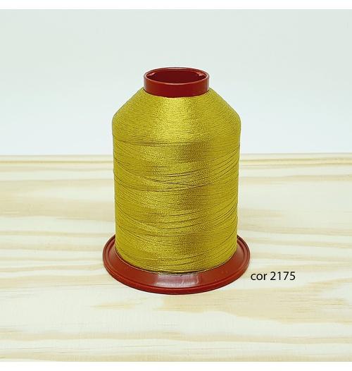 Linha para bordar Ricamare 4000mt - cor 2175 (dourado)