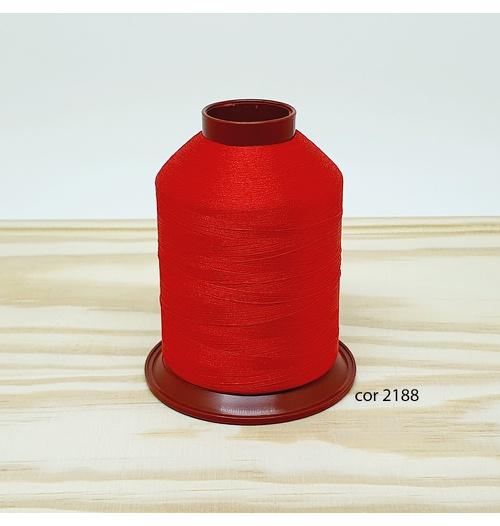 Linha para bordar Ricamare 4000mt - cor 2188 (vermelho)