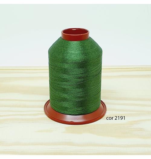 Linha para bordar Ricamare 4000mt - cor 2191 (verde escuro)