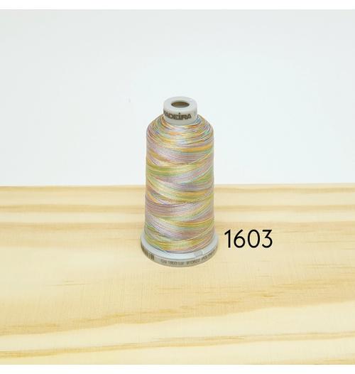 Linha matizada para bordado e quilt - cor 1603