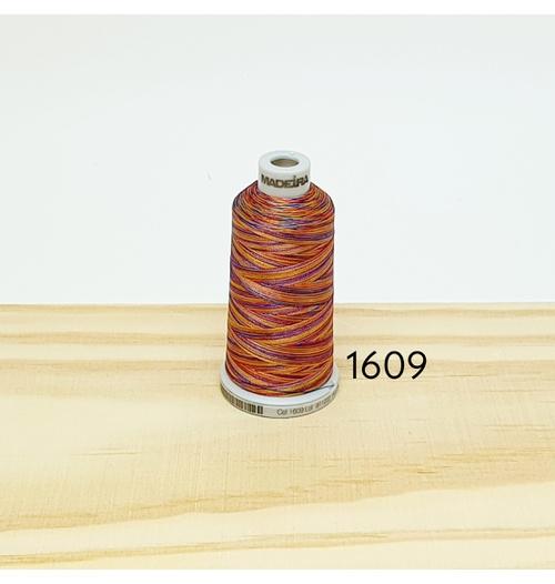 Linha matizada para bordado e quilt - cor 1609