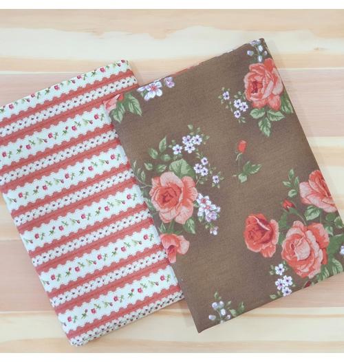 Kit 2 Four Seasons - com listrado vermelho