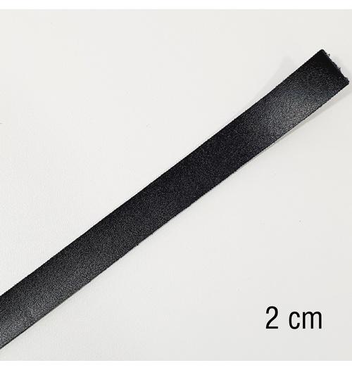 Tira de Montana sintético 1.5 - Preto (2 cm)