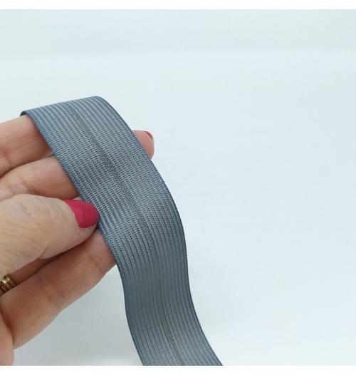 Viés Boneon 25mm - Cinza claro (pacote com 10 metros)