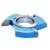 Fresa Para Molduras 100mm X 28mm 6 Asas Em Aço Fepam