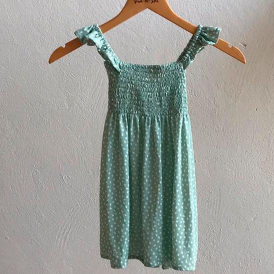 Vestido Infantil Lastex Viena