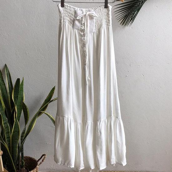 Saia Maya Plus Size Off White