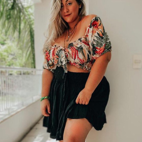 Cropped Bia Plus Size Atacama