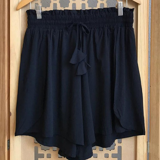 Shorts Luna Plus Size Preto