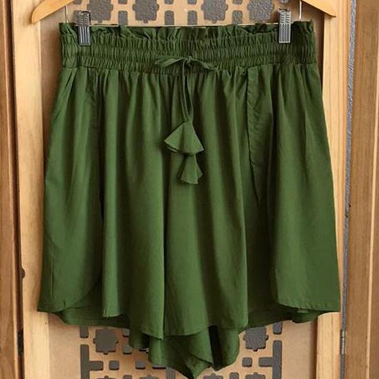 Shorts Luna Plus Size Verde
