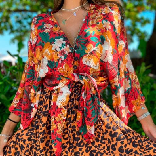 Kimono Liz Madri