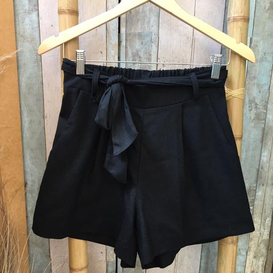 Shorts Alana Plus Size Preto