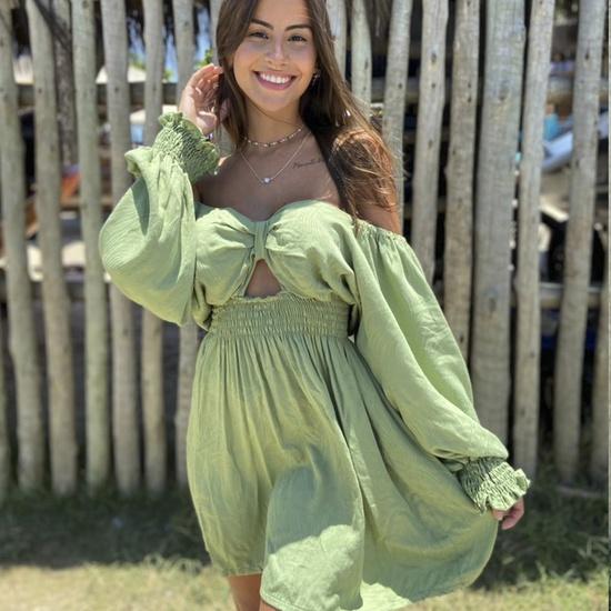 Vestido Essência Verde