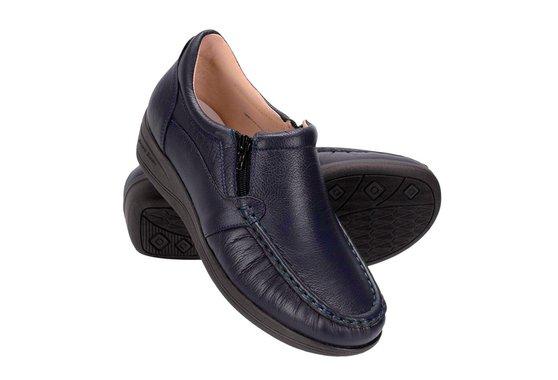 Sapato Feminino Fechado - Azul Marinho