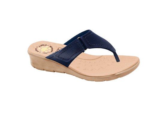 Chinelo Confort Feminino - Azul