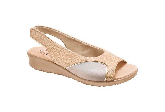 Sandália para Joanete - Lezard Nude