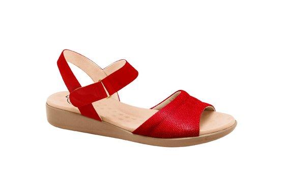 Sandália Anatômica Confort - Vermelha