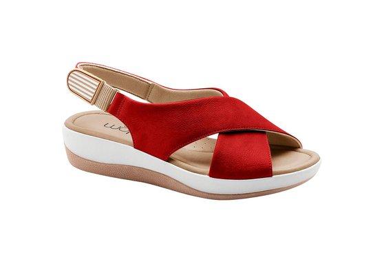 Sandália Ortopédica - Vermelha