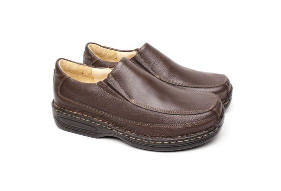 Sapato Marrom Masculino Anti Stress
