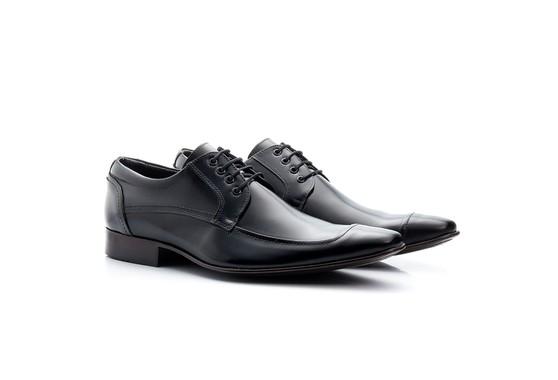 Sapato Derby Masculino Preto